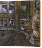 Abandoned Chapel Of An Important Liguria Family II - Cappella Abbandonata Di Famiglia Ligure 2 Wood Print