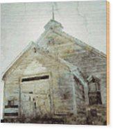 Abandoned Church 1 Wood Print