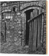 Abandoned Country Barn Wood Print