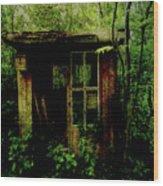 Abandoned Hideaway Wood Print