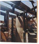 Abandoned House 1 Wood Print
