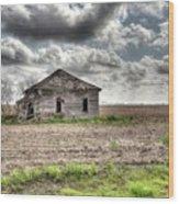 Abandoned House - Ganado, Tx Wood Print