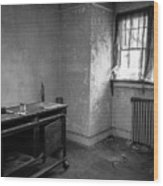 Abandoned House Wilson Nc 0012 Wood Print