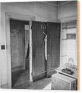 Abandoned House Wilson Nc 0015 Wood Print