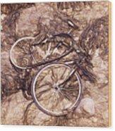 Abandoned - Impressions Wood Print