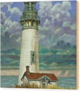 Abandoned Lighthouse Wood Print