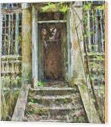 Abandoned, Nbr 3b1 Wood Print