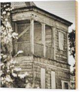 Abandoned Plantation House #4 Wood Print