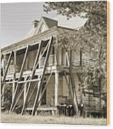 Abandoned Plantation House #3 Wood Print