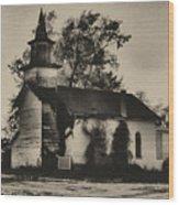 Abandoned Religion  Wood Print