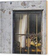 Abandoned Remnants Ala Grunge Wood Print