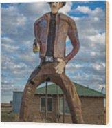 Abandoned Texas #3 Wood Print