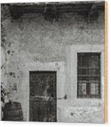 Abandoned Xi Wood Print