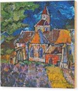 Abbaye De Senanque Wood Print