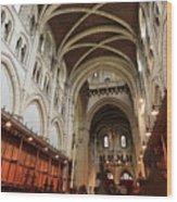 Abbey Church Of Saint Mary, Or Buckfast Abbey Wood Print