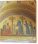 Abbey Mosaic Wood Print