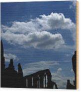 Abbey Skyline Wood Print
