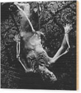 Nude Abby  Martha And Death Wood Print