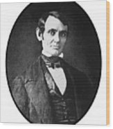 Abe Lincoln As A Young Man  Wood Print