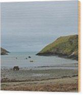 Abercastle Harbor 2 Wales Wood Print
