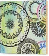 Abi03 Wood Print