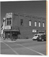 Abilene, Kansas - Cedar And 3rd II Wood Print