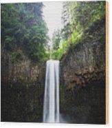 Abiqua Falls 2 Wood Print