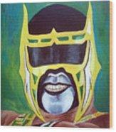 Abismo Negro Wood Print