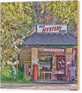 Abita Mystery House Wood Print