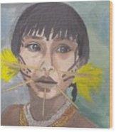 Aborigen Venezolano Wood Print