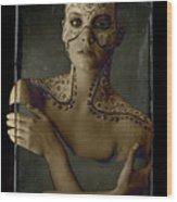 Aboriginal Vogue Wood Print