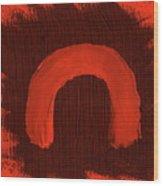 Aborigine Woman 2 Wood Print