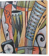 About Music N21 Wood Print