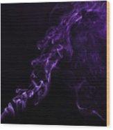 About Purple Wood Print