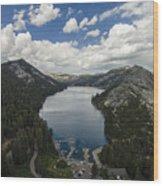 Above Echo Lake Wood Print