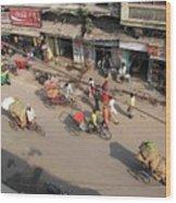 Above Pahar Ganj Wood Print