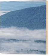 Above The Clouds Panoramic Wood Print