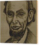 Abraham's Lincoln. Wood Print