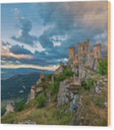 The Last Stronghold, Italy  Wood Print