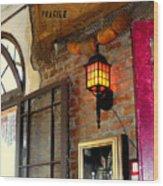 Absinthe Bar Wood Print