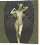 Absinthe Fairy  Wood Print