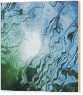 Absract Reeds No. 2 Wood Print