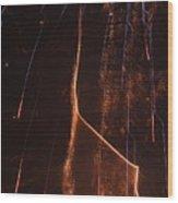 Abstarct Fireworks  Wood Print