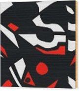 Abstrac7-30-09 Wood Print