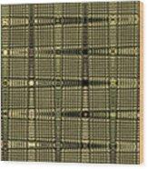 Abstract # 6669e Wood Print