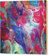 Abstract - Evolution Series 1003 Wood Print