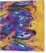 Abstract - Evolution Series 1009 Wood Print