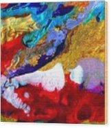 Abstract - Evolution Series 1011 Wood Print