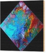 Abstract - Evolution Series 1012 Wood Print