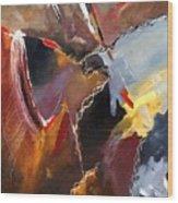 Abstract 020606 Wood Print